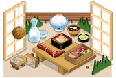 Isometric,Restaurant,Indoor...