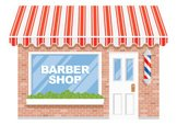 Store,Awning,Window,Barber Sh…