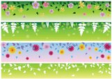 Flower,Banner,Clip Art,Seas...
