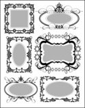Frame,Vector,Ornate,Art Dec...