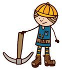 Pick Axe,Manual Worker,Cons...