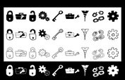 Chain,Toolbox,Doodle,Sketch,B…