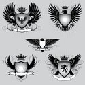 Eagle - Bird,Shield,Wing,Co...