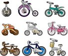 Bicycle,Cartoon,Cycling,Cu...