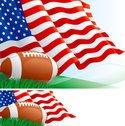 Football,Flag,American Foot...