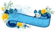 Forget-Me-Not,Flower,Banner...