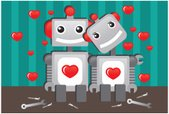 Robot,Love,Machinery,Heart ...