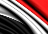 Yemen,Flag,Three-dimensiona...
