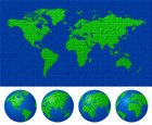 Puzzle,World Map,Earth,Map,...