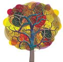 Tree,Multi Colored,Sketch,C...