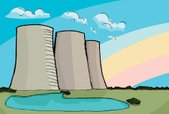 Nuclear Power Station,Water...