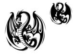 Dragon,Tattoo,Indigenous Cu...