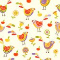 Bird,Pattern,Child,Flower,R...