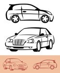 Car,Outline,Drawing - Art P...