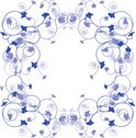 Scroll Shape,Floral Pattern...