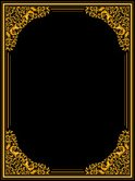 Frame,Ornate,Gold Colored,B...
