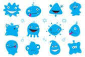 Monster,Smiling,Characters,...