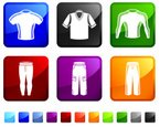 Clothing,T-Shirt,Icon Set,C...