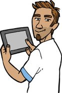 Digital Tablet,Young Adult,...