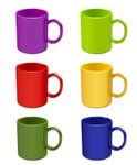 Mug,Coffee - Drink,Green Colo…