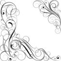 Swirl,Single Line,Calligrap...