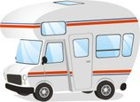 Motor Home,Cartoon,Transpor...
