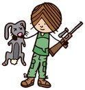 Rifle,Gun,Hunter,Holding,Anim…