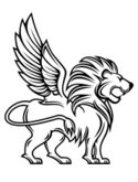 Lion - Feline,Wing,Vector,S...