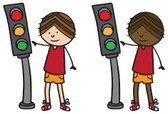 Stoplight,Child,Teenager,Li...