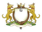 Dog,Coat Of Arms,Insignia,S...