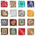 Art,Symbol,Icon Set,Music,P...