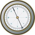 Compass,Single Object,Guida...