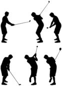 Golf,Silhouette,Sport,Multi...