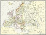 Map,Cartography,Europe,Old,...