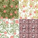 Floral,Classical Style,Patt...