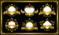 Mirror,Frame,Gold Colored,G...
