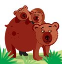 Bear,Cute,Bear Cub,Cartoon,...