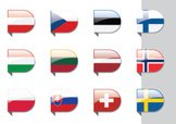 Flag,Norway,Finland,Baltic ...