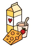 Dairy Product,Cartoon,Chees...