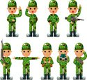 Armed Forces,Army,Cartoon,M...