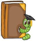 Worm,Book,Alphabet,Graduati...