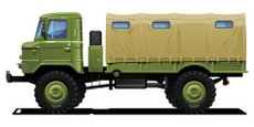 Truck,Army,Military,Side Vi...