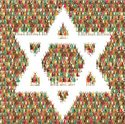 Star Of David,Child,Crowd,P...