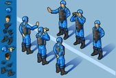 Armed Forces,Isometric,Unit...