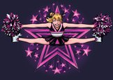 Cheerleader,Star - Space,St...