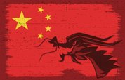 Dragon,Silhouette,Chinese D...