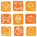 Icon Set,Tombstone,Hallowe...