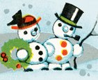 Snowman,Christmas,Color Ima...