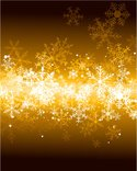 Snowflake,Gold Colored,Whit...