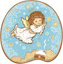 Angel,Christmas,Pattern,Vec...